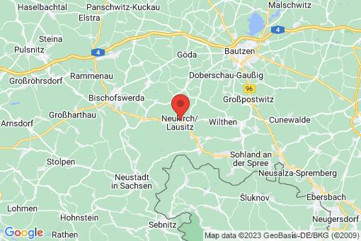 Karte Neukirch/Lausitz