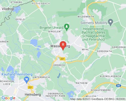 Google Karte von Rohrreinigung Wassenberg