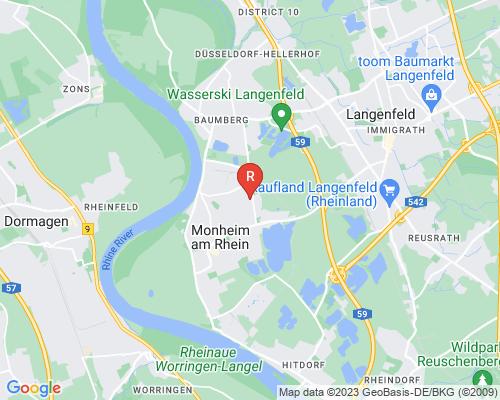Google Karte von Rohrreinigung Monheim