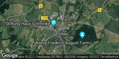 Google Map of Löbau