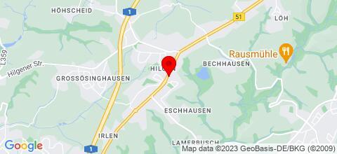 Google Map für Ferienwohnung Paczka Monteur und Messezimmer