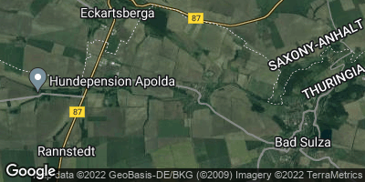Google Map of Auerstedt