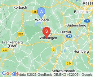 Karte für Golfclub Bad Wildungen e.V.