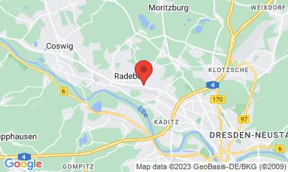 Arbeitsort: 01445 Radebeul
