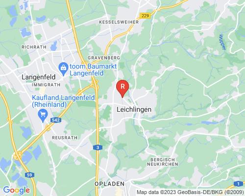 Google Karte von Rohrreinigung Leichlingen