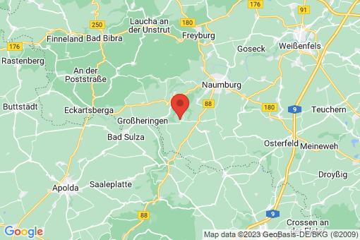 Karte Crölpa-Löbschütz