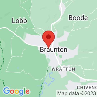 Map showing Heartbreak Hotel Coffee (Braunton)