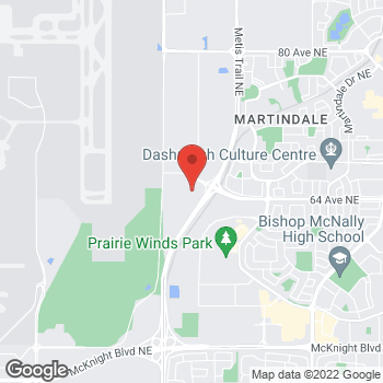 Map of Tim Hortons at 3699 63 Ave Ne, Calgary, AB T3J 0G7
