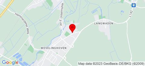 Google Map für Monteurzimmer Wieland