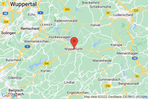 Karte Wipperfürth