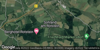 Google Map of Sohland am Rotstein