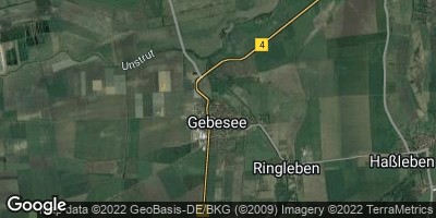 Google Map of Gebesee