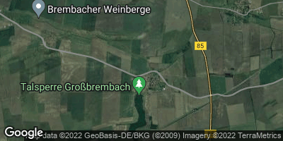 Google Map of Großbrembach