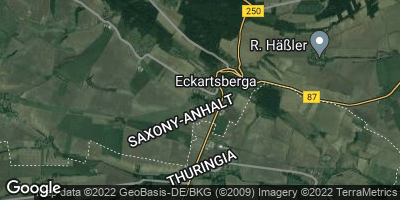 Google Map of Eckartsberga