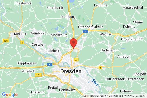 Karte Hellerau