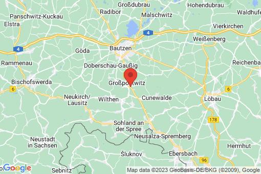 Karte Großpostwitz/Oberlausitz