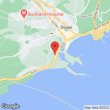 Map of Welcome Dover, Lime Kiln Street at Lime Kiln Street, Dover, Kent CT17 9EF