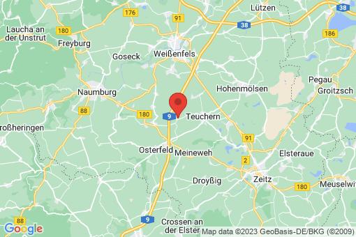 Karte Krauschwitz