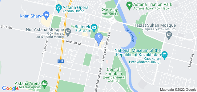 Расположение гостиницы Пекин Палас Солюкс на карте