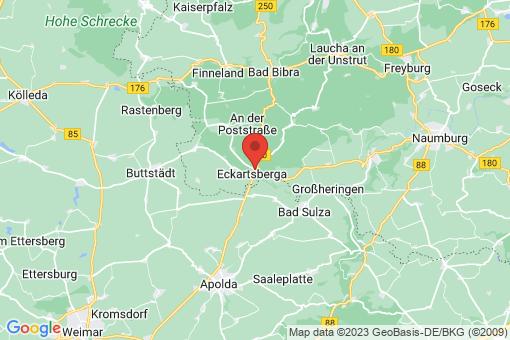 Karte Eckartsberga