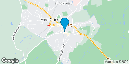 Map of 8 London Road in East Grinstead