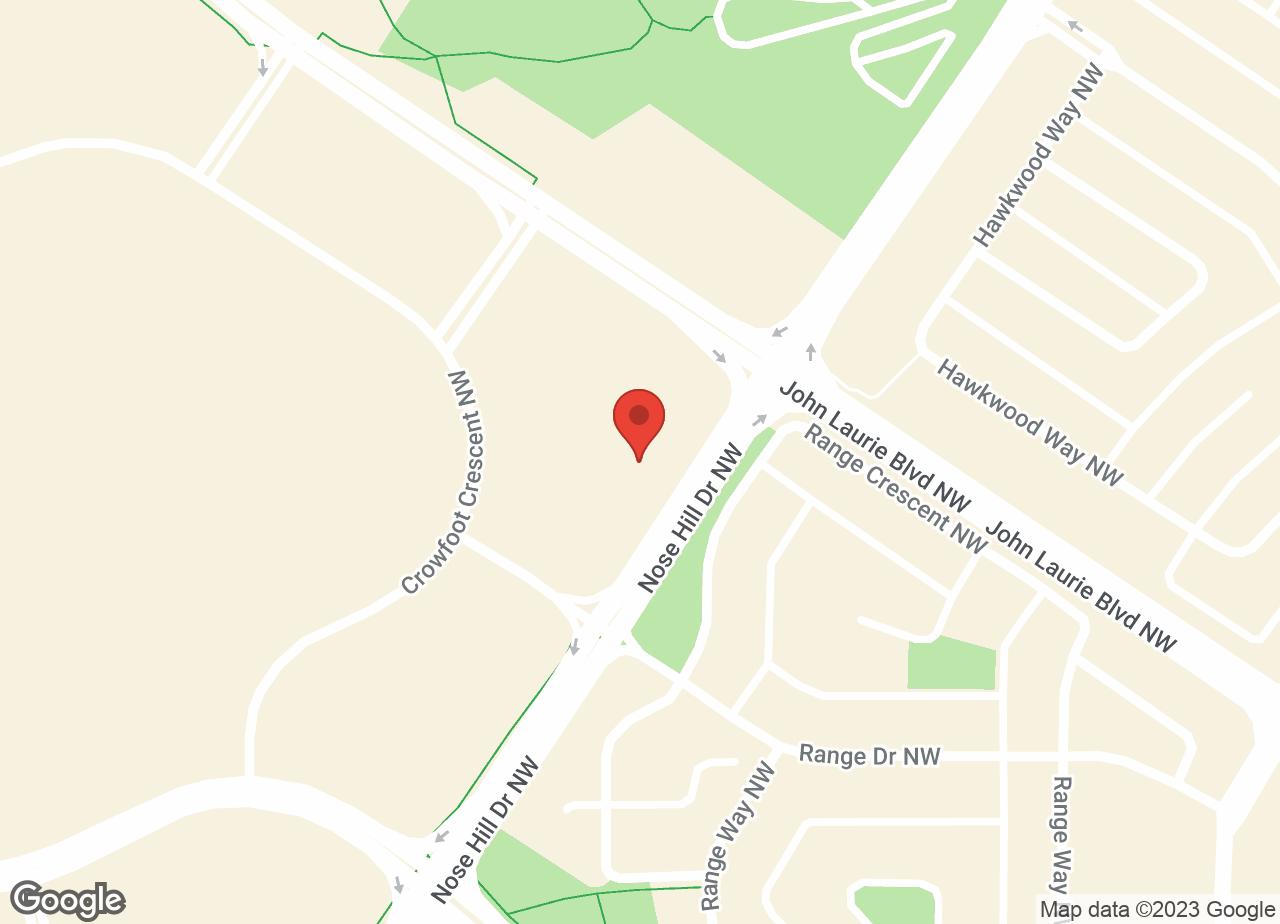 Google Map of Crowfoot Animal Hospital