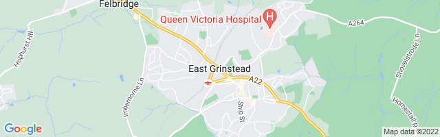Map Of East Grinstead