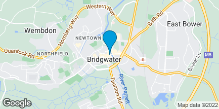 Map of 6 Fore Street in Bridgwater
