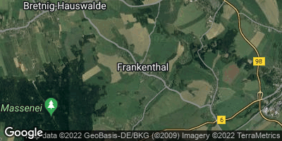 Google Map of Frankenthal