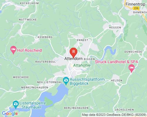 Google Karte von Rohrreinigung Attendorn