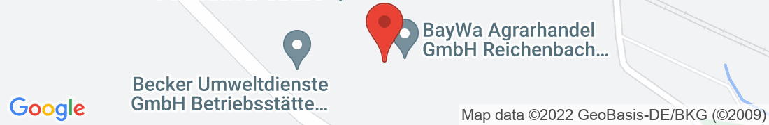 BayWa Agrar Reichenbach Anfahrt