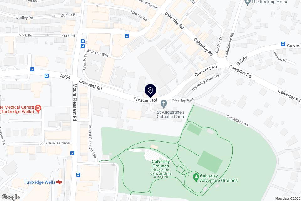 Crescent Road, Tunbridge Wells, TN1 2LU map