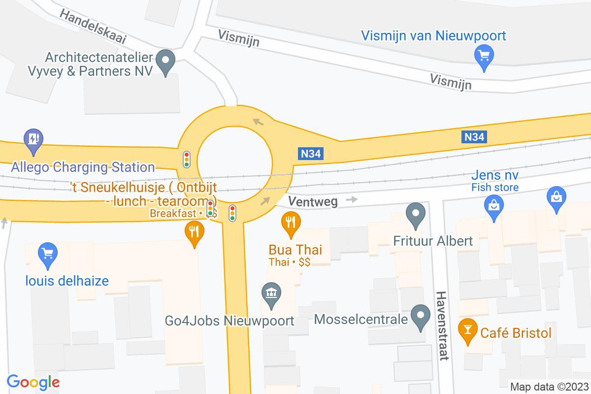 situation du Smatch Nieuwpoort