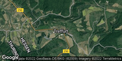 Google Map of Treffurt