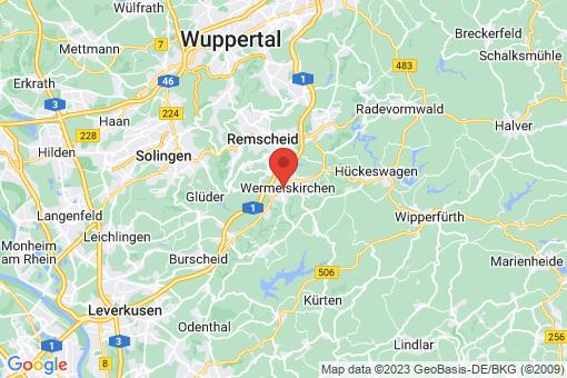 Karte Wermelskirchen