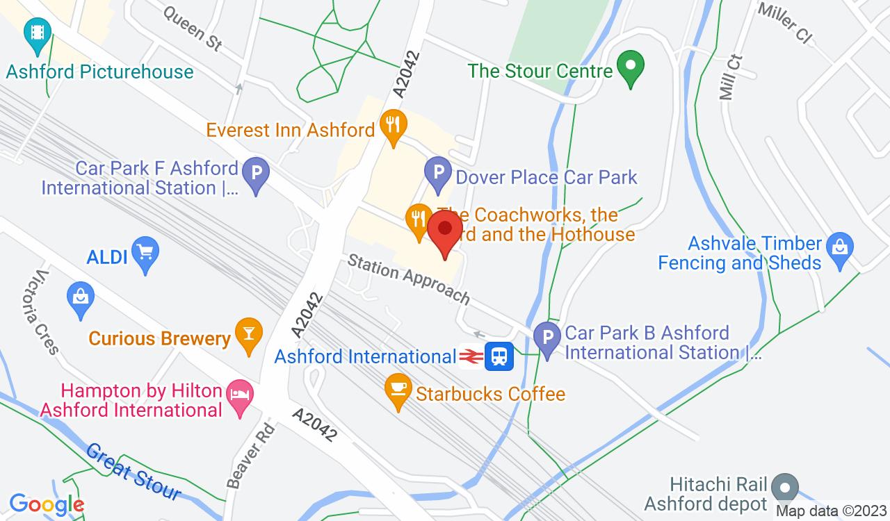 Google Map of Rix & Kay Solicitors, Ashford, UK