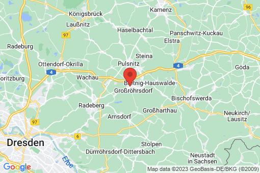 Karte Großröhrsdorf