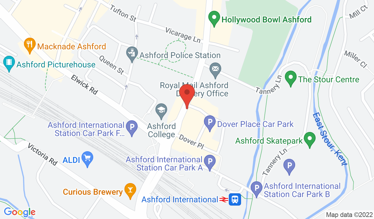 Google Map of Everest Inn, Ashford, UK
