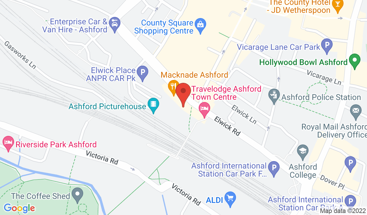 Google Map of Picturehouse , Ashford, UK