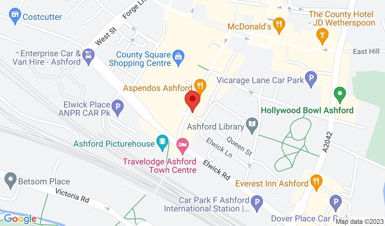 Google Map of Taproom TN23 , Ashford, UK