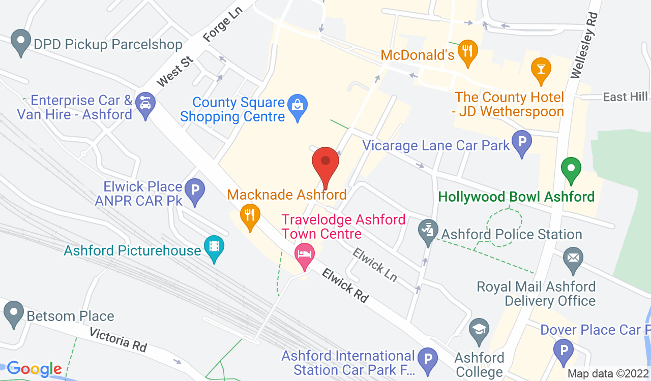 Google Map of Bosch Global Associates Ltd, Ashford, UK