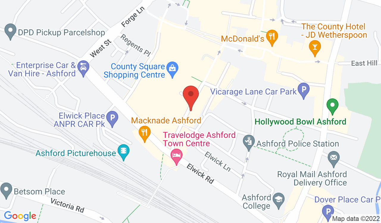 Google Map of Himalayan Gurkha Mini Market, Ashford, UK