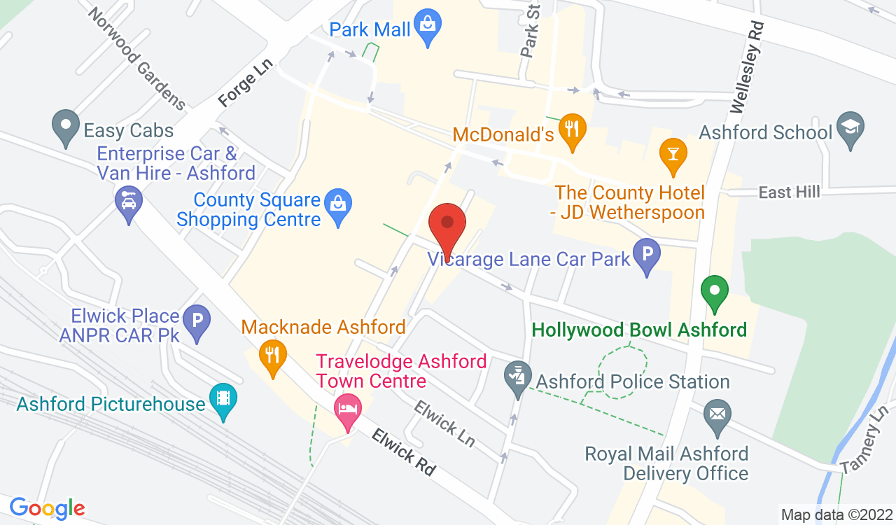 Google Map of The Phoenix, Ashford, UK