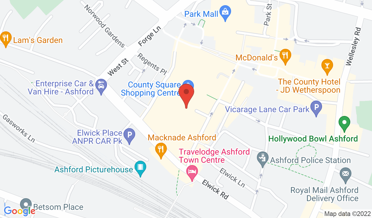 Google Map of Muffin Break, Ashford, UK