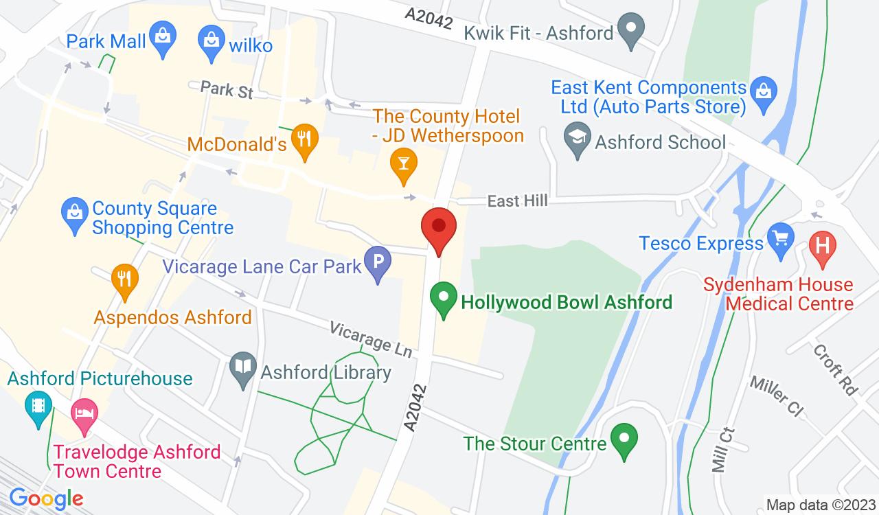 Google Map of Spiral Cycles, Ashford, UK