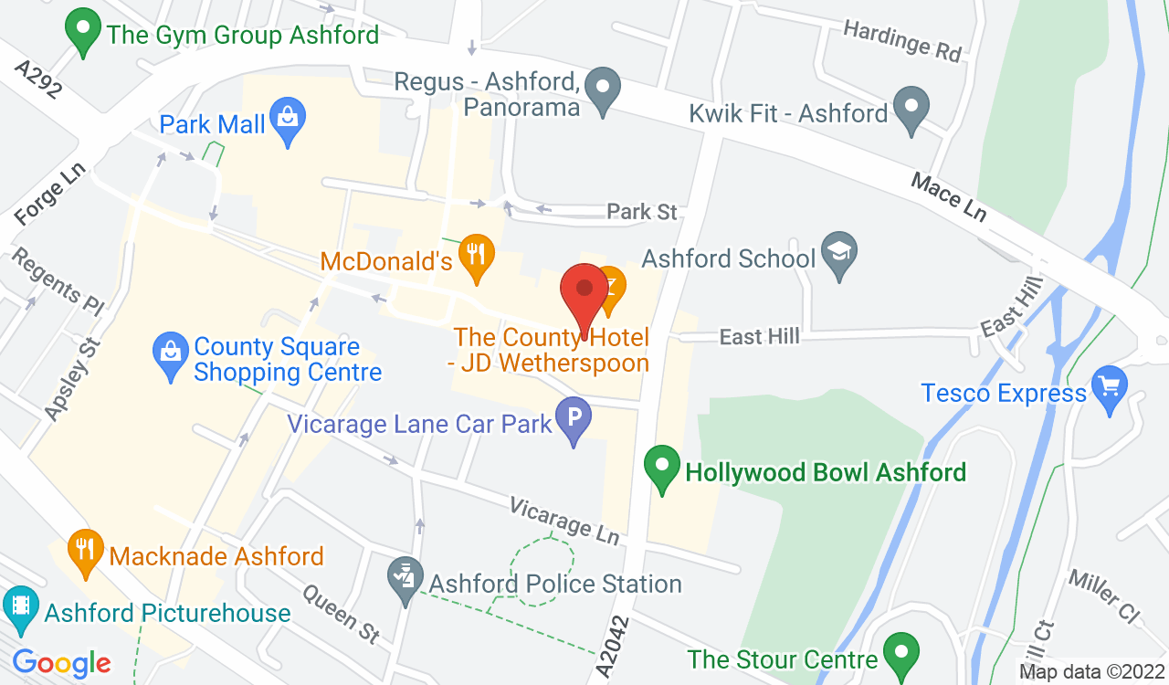 Google Map of Nail Forever, Ashford, UK
