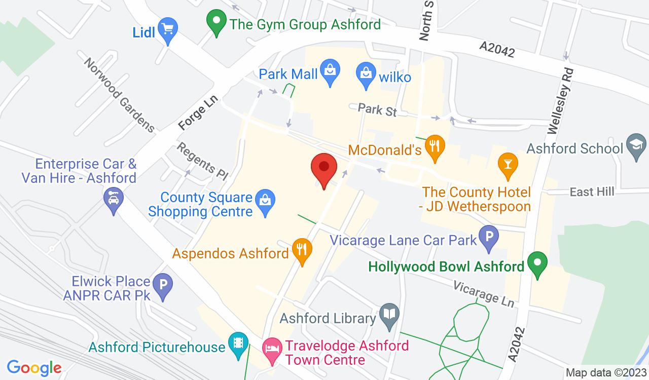 Google Map of Salata, Ashford, UK
