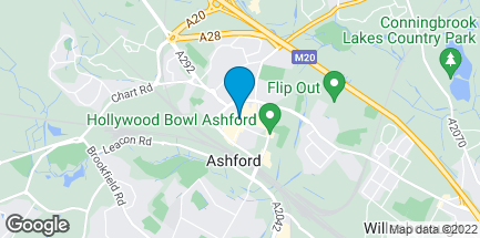Map of 3 County Square Shopping Centre in Ashford