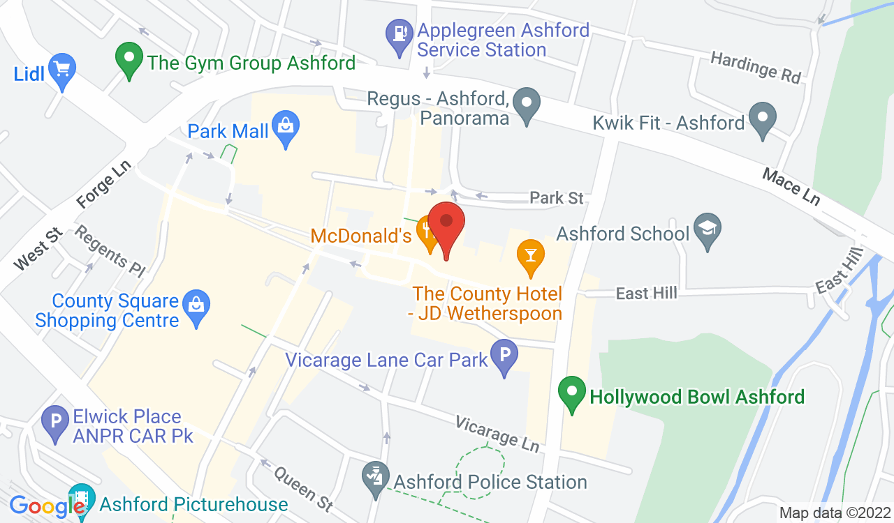 Google Map of Sagittarius Marketing, Ashford, UK