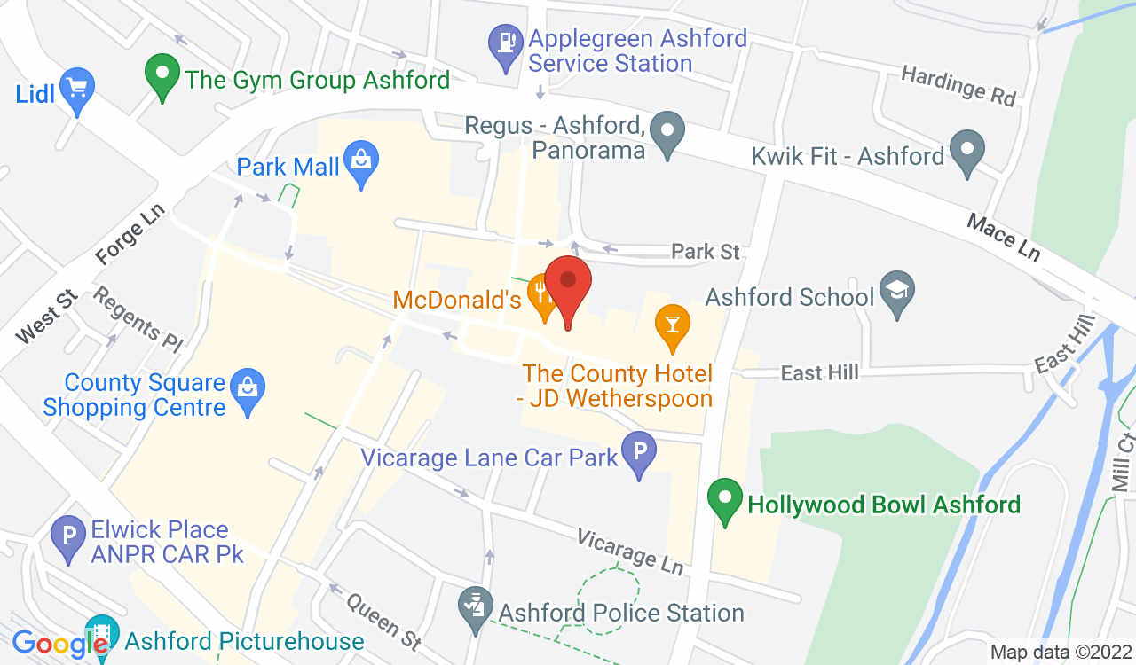 Google Map of Namuna Hair & Beauty, Ashford, UK